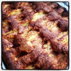 Rett og slett en skikkelig god eplekake i langpanne – Verdens Beste Kake