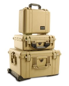 Pelican Cases. As close to indestructible as you can get. Make your own survival kits.