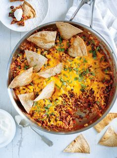 "Ricardo ""burrito"" Mexican casserole recipe / 5 ok for weekly meals Wine Recipes, Mexican Food Recipes, Beef Recipes, Cooking Recipes, Healthy Recipes, Ethnic Recipes, Vegetarian Mexican, Soup Recipes, Burrito Casserole"