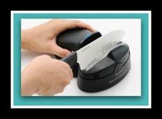 Kyocera Electric Diamond Knife Sharpener for Ceramic Knives