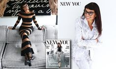 Norma Kamali, 70, flaunts her ageless beauty on the cover of New You