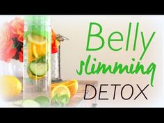 Homemade Belly slimming Detox Recipe - ExtraWellness