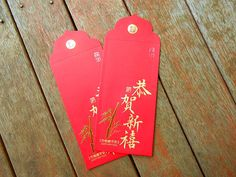 The giving of traditional red envelopes filled with money to wish even more prosperity upon your loved ones is a must.