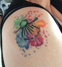 Camino-Sehnsuchts-Tattoo