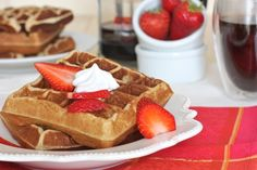 Grain Free Waffles; Guest Post From Against All Grain. (Gluten/Dairy/Refined Sugar Free) - Brittany Angell