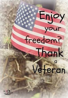 Thank you to all the heroes who have/are serving our country! God bless America and God bless them!