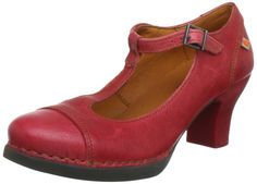 Art Women's Harlem Buckle T Straps Heels: Amazon.co.uk: Shoes & Bags