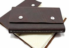 Leather Fly Wallet By Lost River Leather