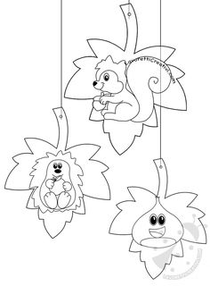 Fall Arts And Crafts, Autumn Crafts, Autumn Art, Cute Coloring Pages, Disney Coloring Pages, Flower Crafts Kids, Crafts For Kids, Fall Preschool, Preschool Crafts