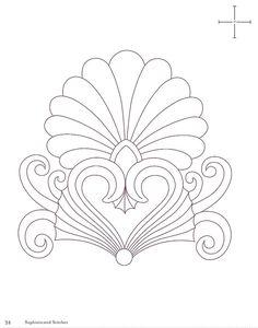 View album on Yandex. Hand Embroidery Design Patterns, Box Patterns, Stencil Patterns, Painting Patterns, Quilt Patterns, Free Motion Quilting, Hand Quilting, Machine Quilting, Geometric Tattoo Inspiration