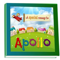 Personalized name book for kids