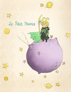 Le Petit Prince  the only way that book would be awesome . . .