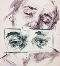 ellysmallwood: Charcoal sketch with tinted charcoal