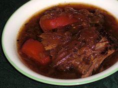 Carne Assada a Portuguesa (Portuguese Pot Roast). Foodsapor.com - Food Sapor - Recipes and cooking confidence for home cooks everywhere