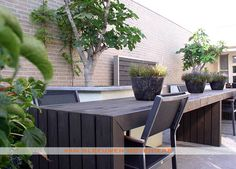 Patiotuin, ontwerp & aanleg door Van Sleeuwen Hoveniers - Veghel. Meer patiotuinen treft u op www.vansleeuwenhoveniers.nl.