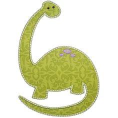 Dinosaur 2 Applique