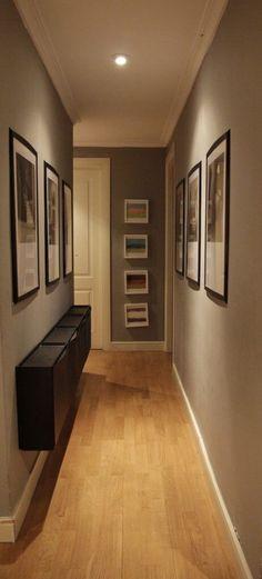 Small and narrow hallway styling (PHOTO GALLERY) - Building - - schön wohnen - Home decor ideas Interior Design Living Room, Modern Interior, Flur Design, Hallway Designs, Design Case, Entryway Decor, New Homes, House Design, Home Decor
