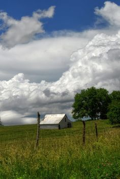 White Barn, White Clouds, if adopted granddaughters grown, and I was alone....