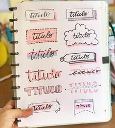 Titel Handschrift Titles Handwriting – New Ideas Bullet Journal Headers, Bullet Journal Lettering Ideas, Bullet Journal Banner, Journal Fonts, Bullet Journal Notebook, Bullet Journal School, Bullet Journal Ideas Pages, Bullet Journal Inspiration, Hand Lettering Fonts