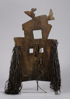 Hood Museum of Art, Dartmouth College: Purchased through the Anonymous Fund Dartmouth College, Female Mask, West Africa, Anonymous, Art Museum, Masks, Objects, Texture, Wood