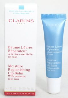 Clarins Moisture Replenishing Lip Balm With essential rose wax (Hydrating Care) 0.4 oz./15 ml Clarins http://www.amazon.com/dp/B00KDLR2O8/ref=cm_sw_r_pi_dp_1FETwb0WYWR1S