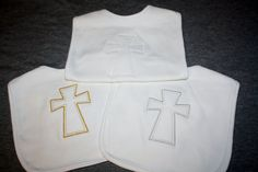Hey, I found this really awesome Etsy listing at https://www.etsy.com/listing/174341329/baptism-or-christening-baby-bib-with
