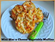 Mummy Musings and Mayhem: Mini Mac n Cheese Vegie Muffins - Easy Food for Fussy Eaters!