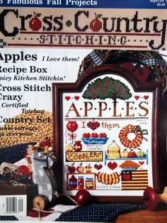 Cross Country Stitching Magazine September/October by NeedANeedle, $4.75