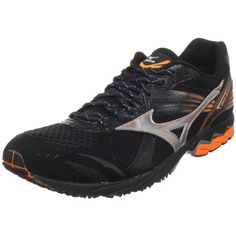 Mizuno Men's Wave Ronin 3 Running Shoe,Anthracite/Silver-Red Orange,7 M US Mizuno Wave - The leading footwear technology that combines cushioning and stability, two distinctly different elements that are both inherently necessary in great running shoes. Dynamotion Fit - Design Technology that relieves the stress the foot naturally places on footwear, eliminating distortion for the perfect fit. G3 ... #Mizuno #Shoes
