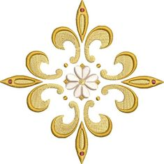 Fleur De Lis Cross Machine Embroidery Design for Hand Embroidery Patterns, Embroidery Files, Machine Embroidery Designs, Art Mural, Cross Designs, Star Patterns, Needlework, Etsy, Sewing