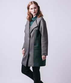 Named Pattern Gaia Quilted Coat Fabricstore Named Clothing, Gaia, Mantel, Coat, Pattern, Jackets, Clothes, Fashion, Adult Children