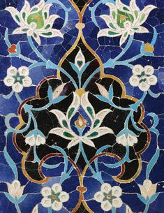 Most up-to-date No Cost Ceramics Tile art Strategies Putting in ceramic tile is often tricky. Thriving tiling jobs are a principal result of excellent pr Tile Art, Mosaic Art, Tile Patterns, Pattern Art, Zentangle Patterns, Islamic Tiles, Persian Architecture, Turkish Pattern, Islamic Paintings