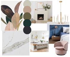 """Cierra Warness on Instagram: """"Concept board for a home remodel • mixing elements of mid century modern with colors inspired by nature •  #interiordesign…"""" Concept Board, Home Remodeling, Mid-century Modern, Mid Century, Interior Design, Nature, Inspiration, Inspired, Instagram"""