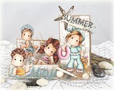 Cardville- Elizabeths Kreative sider: Sommerinspirason hos Copic Marker Norge