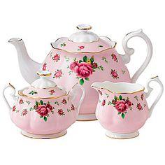 jcp | Royal Albert® Pink Vintage 3-pc. Bone China Teapot Set