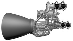 The is a foot-pound, thrust-class liquid oxygen and kerosene fueled booster rocket engine currently in development. The team responsible for the rocket's development has recently completed a successful range. Rocket Engine, Jet Engine, 3d Printing News, 3d Printing Service, Aerospace Engineering, Space Race, 3d Printer, Fire, Printed