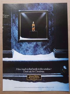 vintage print ad advertisement alcohol Johnny Walker liquor black label scotch
