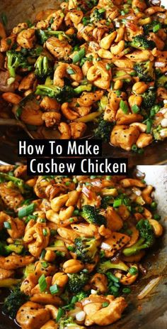 thai recipes Better-Than-Takeout Cashew Chicken - Juicy chicken, crisp-tender vegetables, and crunchy cashews coated with the best garlicky soy sauce! Skip takeout and make your own restaurant-quality meal thats easy, ready in 20 minutes, and healthier! Wallpaper Food, Clean Eating, Natural, Cashew Chicken Recipes, Thai Cashew Chicken, Recipies, Chicken With Cashews, Stir Fry Recipes, Slow Cooker Cashew Chicken