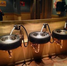 Coolest bathroom sinks ever!