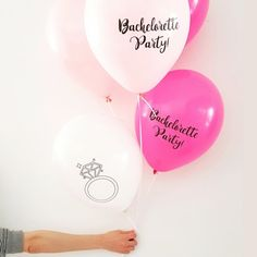 """Bachelorette Party"" Μπαλόνια 12τμχ  12 μπαλόνια για το bachelorette party σας για να διακοσμήσετε το σπίτι ή το μέρος που θα κάνετε το party σας! Party, Shop, Wedding, Valentines Day Weddings, Parties, Weddings, Marriage, Store, Chartreuse Wedding"