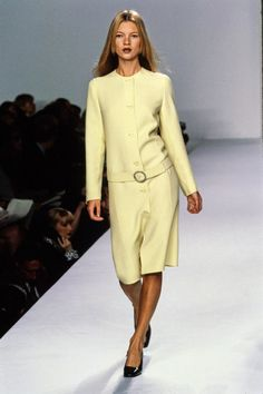 Calvin Klein Collection Spring 1996 Ready-to-Wear Fashion Show - Kate Moss