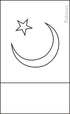 pakistani flag coloring pages - photo#24