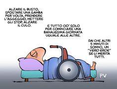 L'eroismo dell'uomo comune…#italia #vignette #satira #umorismo