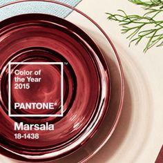 2015 MARSALA #pantone #color