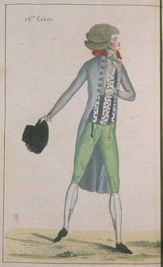 Journal de la Mode et du Gout, July 1790.