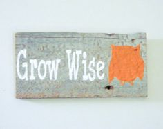 Reclaimed Barnwood Hand-Painted Wood Sign Rustic by TheDoubleDubs