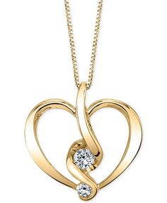 Wrapped in love diamond heart pendant 14k white gold diamond proud mom diamond heart pendant necklace 15 ct tw in 14k gold or white gold mozeypictures Gallery