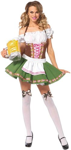 Gretchen Adult Costume #Oktoberfest #Octoberfest