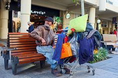 City Dweller, Perth, Western Australia - HomeLess, HomeLessNess