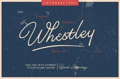 Whestley Handlettering by INKSUN™ on @creativemarket